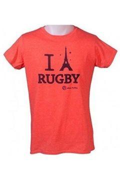 T-shirt Ultra Petita Tee-shirt - I love rugby tour Eiffel -(88694038)