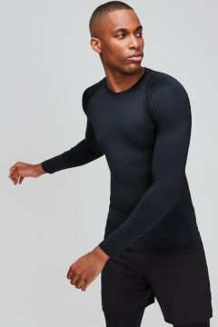 MP Essentials Training Long Sleeve Baselayer - Black - XS(108524576)