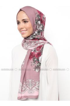 Multi - Printed - Shawl - Karaca Eşarp(110342669)