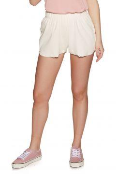 SWELL Geenie Ribbed Short Damen Shorts - White(100264863)