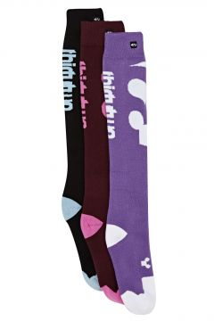 Snow Socks Thirty Two Cutout 3pk - Assorted(115690441)