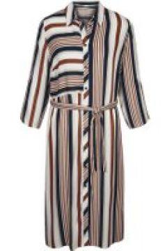 Kleid MIAMODA Beige/Marineblau/Rost(111503499)