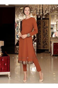Terra Cotta - Suit - Selma Sarı Design(110318658)