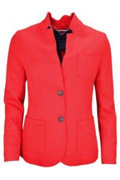 Veste Tommy Hilfiger Blazer New Premium en laine rouge pour femme(115387275)