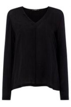 Max Mara Weekend Neck tie blouse - Black(110457760)