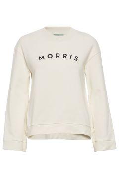 Elicia Sweatshirt Sweat-shirt Pullover Creme MORRIS LADY(108942729)