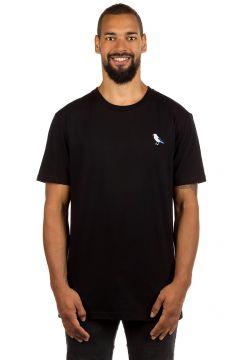 Cleptomanicx Embro Gull T-Shirt zwart(85169707)