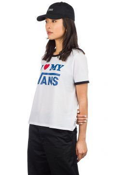 Vans Love Ringer T-Shirt white/black(97844095)
