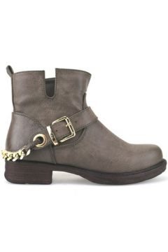 Boots Francescomilano bottines marron cuir AJ227(115399886)