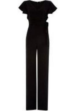 Emme Corona ruffle short sleeve jumpsuit - Black(110458115)