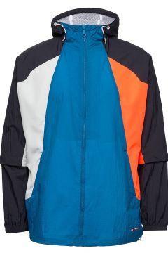 Blocked Windbreaker Dünne Jacke Blau TOMMY SPORT(114802047)