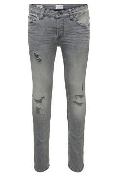 ONLY & SONS Onsloom Grå Slim Fit-jeans Man Grå(115809819)