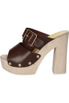 Sandales Suky Brand sandales marron cuir AC764(88469801)