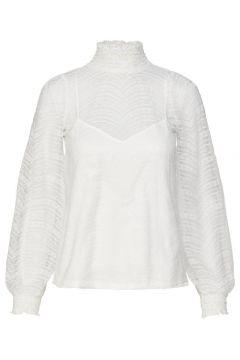 Y.A.S Dentelle Top À Manches Longues Women White(108585298)