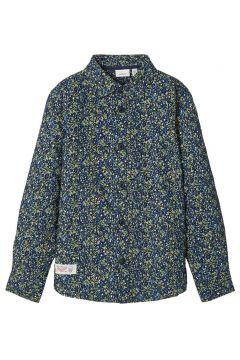 NAME IT Bedrukt Katoenen Overhemd Heren Blauw(109217710)
