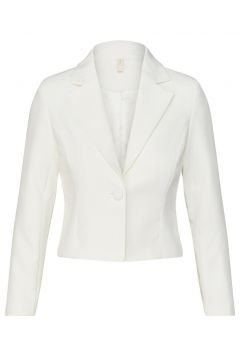 Y.A.S Single-breasted Cropped Blazer Dames White(108627285)