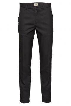 Pond Suit Pant Anzughosen Businesshosen Schwarz FORÉT(114153123)