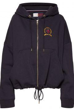 Hcw Crest Zip Throug Hoodie Pullover Schwarz HILFIGER COLLECTION(114153048)