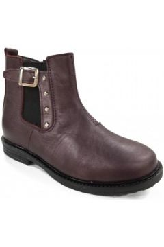 Bottines Bopy Boots SANTIANA Bordeaux(101571635)