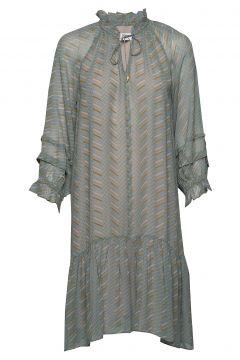 Dress Long Sleeve Kleid Knielang Grün NOA NOA(108573661)
