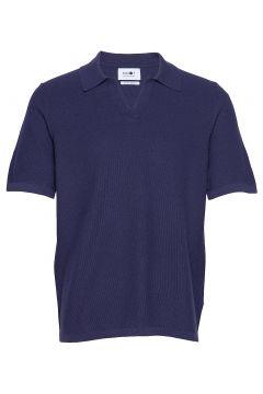 Ryan Polo 6390 Polos Short-sleeved Blau NN07(114154597)