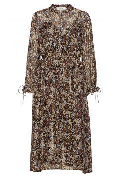 Harries Kleid Knielang Bunt/gemustert MUNTHE(114163718)