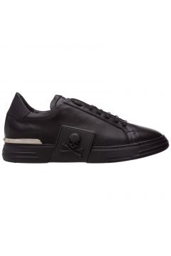 Men's shoes leather trainers sneakers phantom(109266178)
