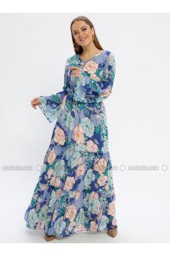 Mint - Multi - V neck Collar - Fully Lined - Dresses - Le Mirage(110338921)