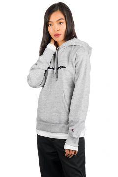 Champion American Logo Sweater Hoodie grijs(96894401)