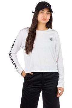 Element Timber Crop Long Sleeve T-Shirt wit(95390329)