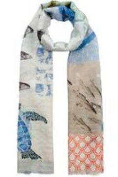 XL-Schal aus Baumwolle und Leinen Codello light blue(114170738)