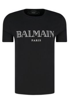 T-shirt Balmain Tee Shirt Stretch W8h8601 -(101638418)