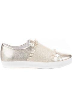 Chaussures Louisa Baskets mode femme - - Dore - 36(88604489)