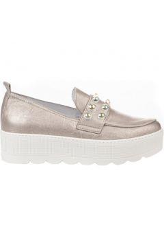 Chaussures Louisa Mocassins femme - - Beige rose - 36(101576628)