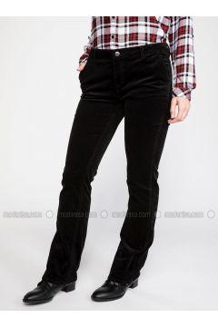Black - Pants - DeFacto(110325537)