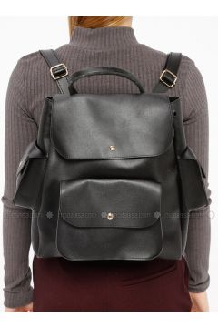 Black - Backpacks - Koton(110322222)