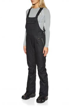 686 Black Magic Insulated Bib Damen Snowboard-Hose - Black Dobby(100267717)