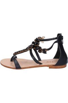 Sandales E...vee E...sandales noir cuir BY189(88522920)
