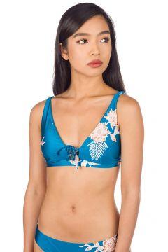 Roxy Riding Moon Elongated Tri Bikini Top mykonos blue s eglantine(114554807)