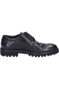 Chaussures Triver Flight élégantes noir cuir BX569(115442584)