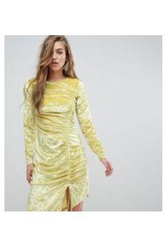 Miss Sefridge - Gerafftes Minikleid aus Samt - Mehrfarbig(86671684)