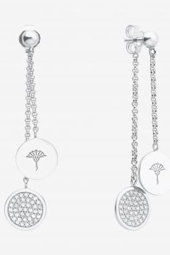 Ohrringe mit Zirkonia in Silber(111057170)