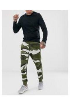 Nike - Jogginghose mit Military-Muster - Grün(94827539)