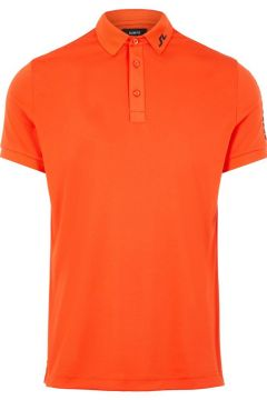J.LINDEBERG Tour Tech Slim Fit Polo Heren Rood(109105427)