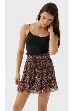Plissierte Shorts Pastellrosa(113908509)
