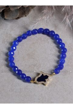 Blue - Gold - Bracelet - By Geda(110328772)