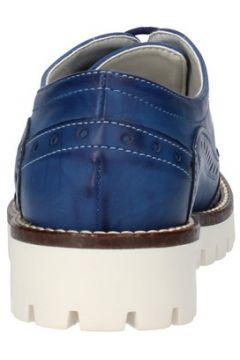 Ville basse Olga Rubini élégantes bleu cuir AF117(115393367)