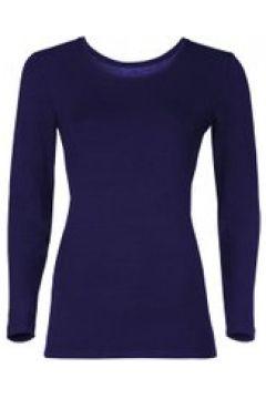Loungewear Damen Langarmshirt Starlet Nachtblau(111521120)