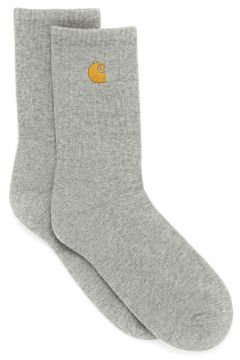 Fashion Socks Carhartt Chase - Grey Heather / Gold(115690453)