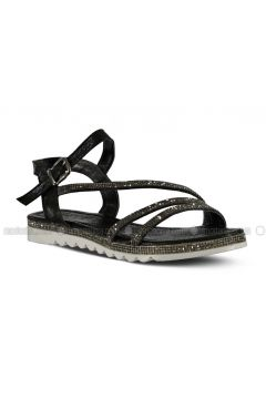 Black - Sandal - Sandal - Marjin(110337950)